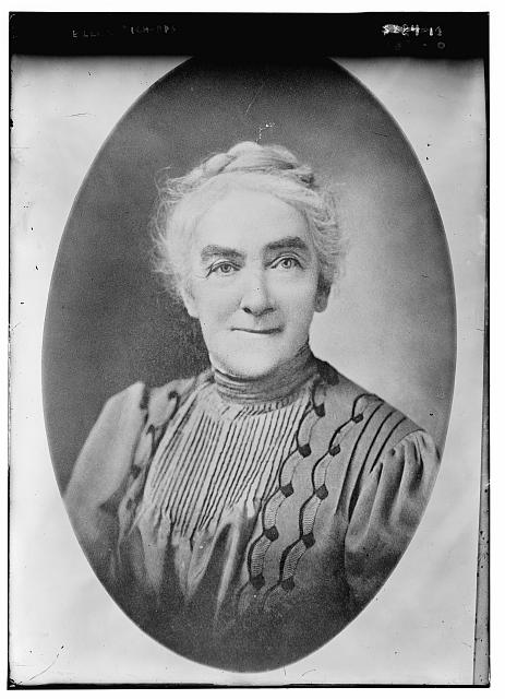 Photograph of Ellen Swallow Richards George Grantham Bain Collection (Library of Congress)